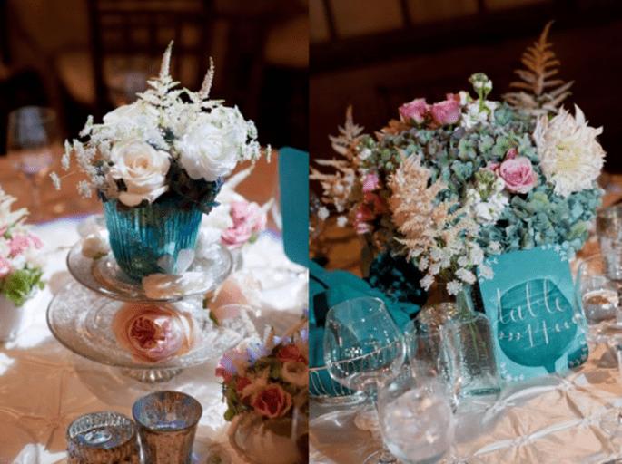 Decoración de boda de la novia con estilo ecléctico - Foto Zofia Photography