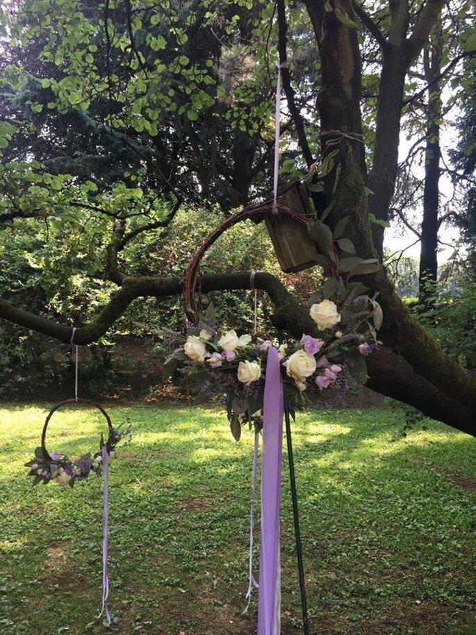 Decorazioni floreali per un tema unico