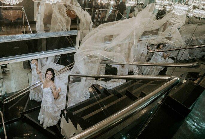 Vestido de noiva: Maison Nelly - Foto: Nayara Andrade ImagiArt