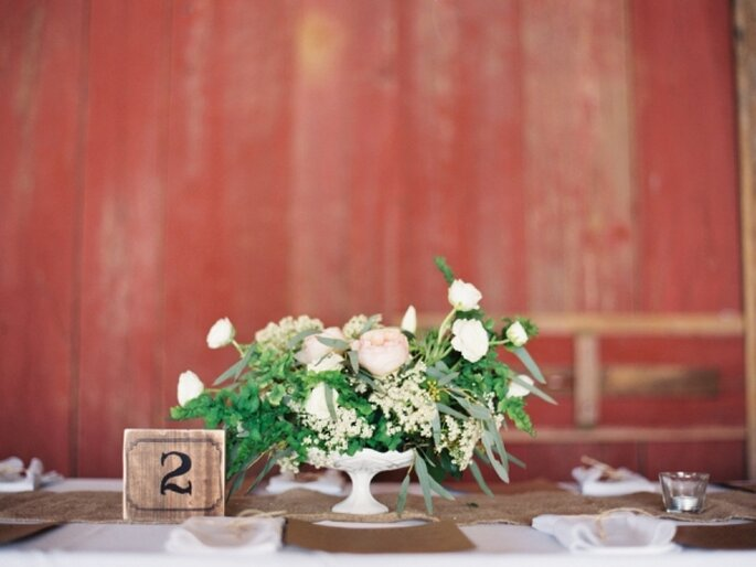 Las flores también pueden dejar de manifiesto tu amor por la armonía natural - Foto Michelle Boyd Photography