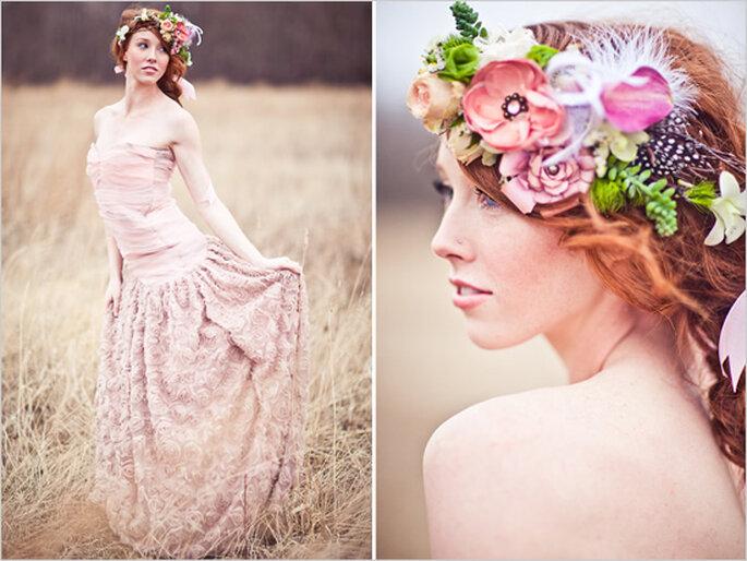 Sesión de fotos pre boda estilo shabby chic - Foto Just For You Photography