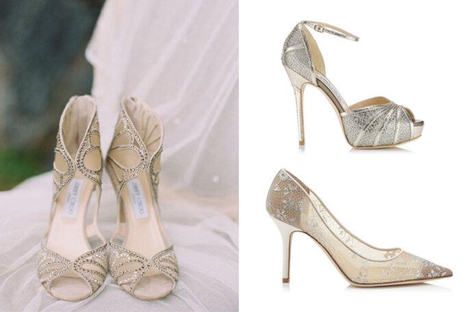 f61dcb41e49e Scarpe da sposa Jimmy Choo 2015  metti il glamour ai tuoi piedi!