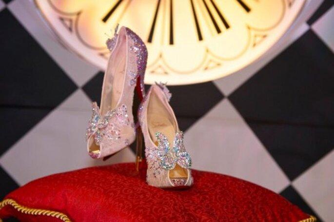 Presentación de los zapatos modernos de Cenicienta - Foto Christian Louboutin