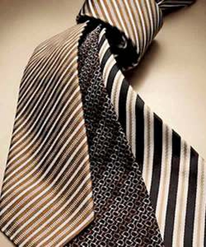 Corbatas a rayas