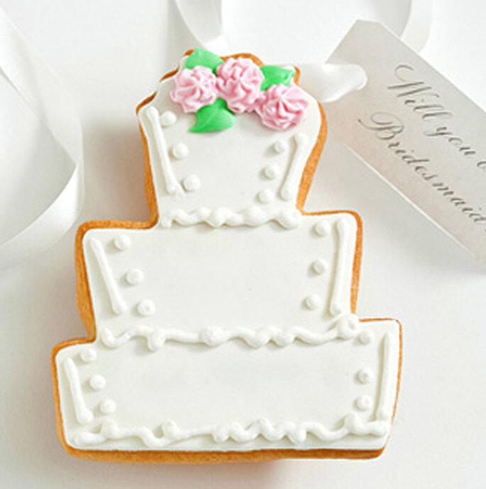 Carte demoiselle d'honneur - Cookie cards