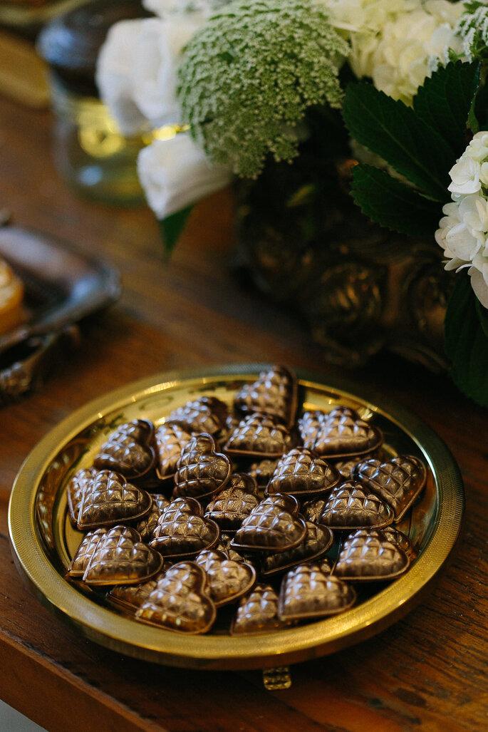Chocolates diferenciados para casamento