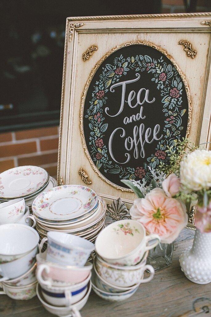 10 detalles para que tu recepción de boda sea la mejor - Anna Delores vía Style Me Pretty