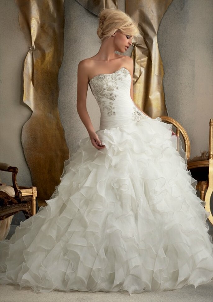 Mori Lee 2013 Bridal Collection. Foto: www.morilee.com