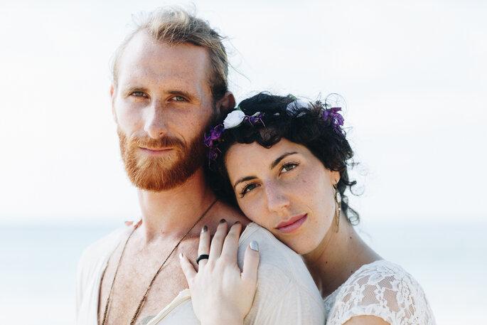 Portrait dos noivos