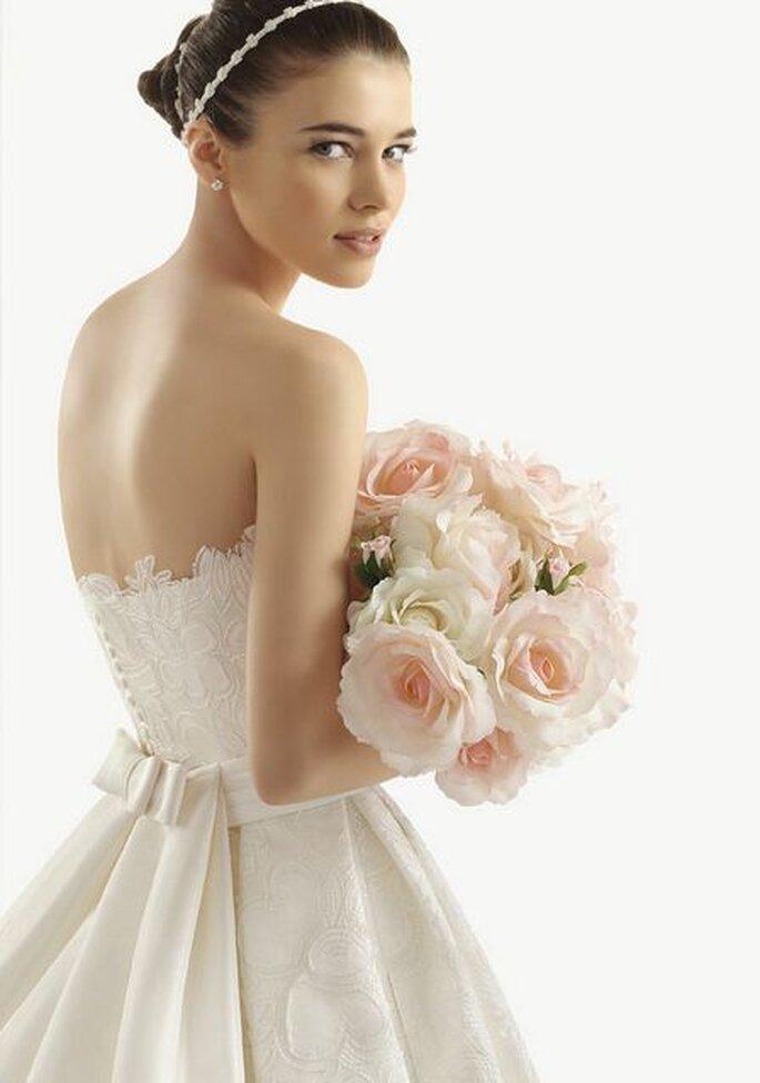 Romantik pur vermitteln Brautsträuße in Pastellfarben – Foto: aire barcelona