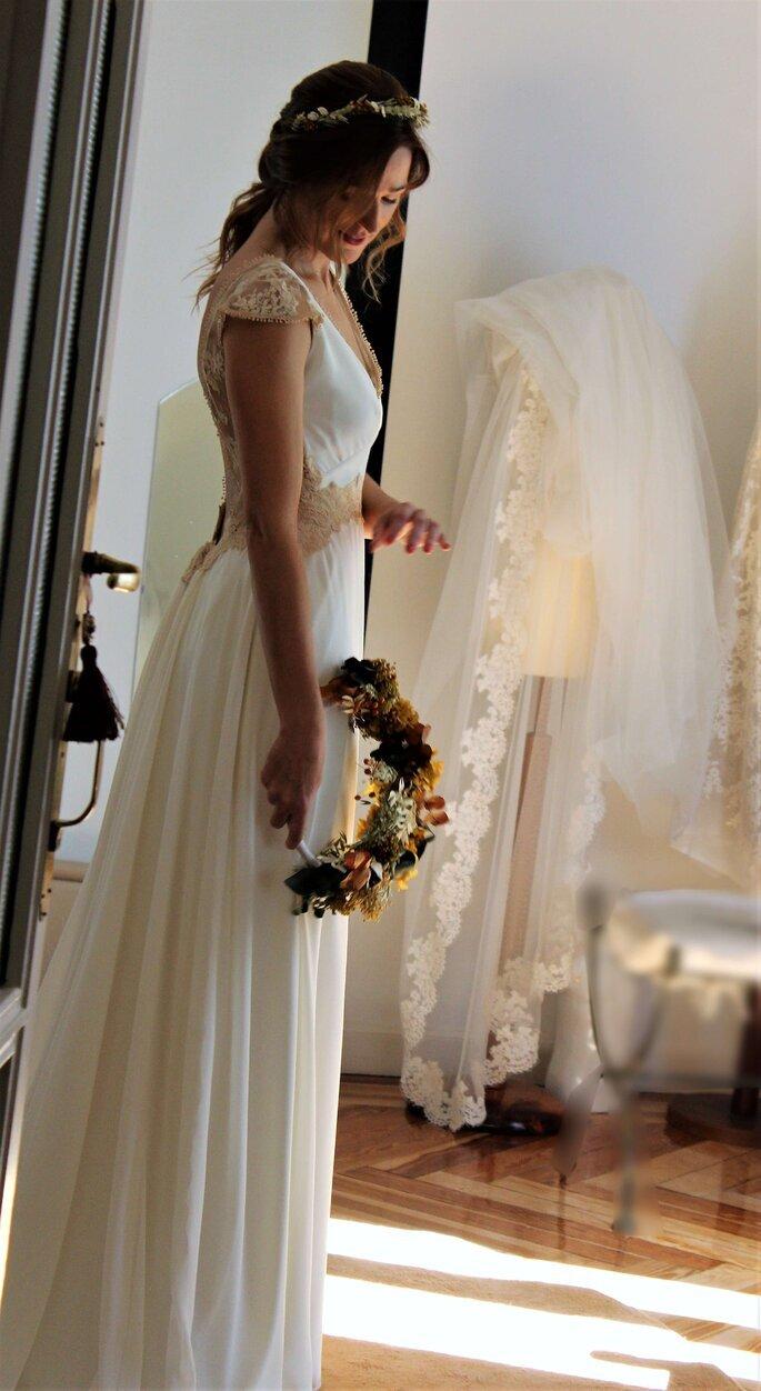 Vega de Orbe diseñador novia Madrid