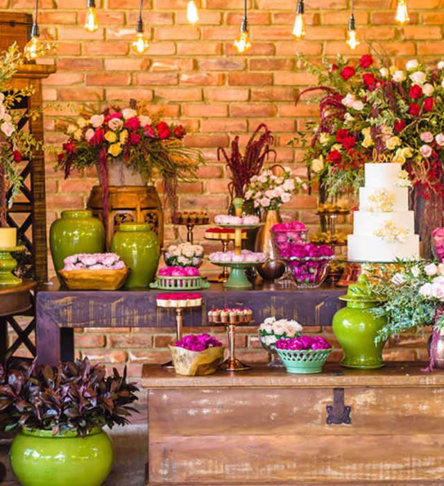 Aluguel de móveis e materiais para casamentos Rio Grande do Sul
