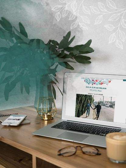 Erstellen Sie Ihre Hochzeitshomepage! Einfach und kostenfrei