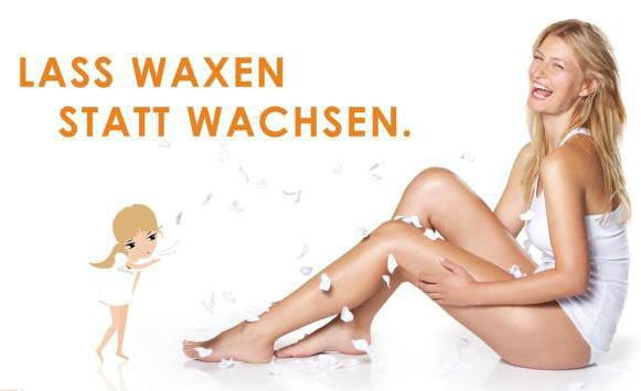 Beispiel: Einfach traumhaft glatte Haut, Foto: Senzera - professional waxing.