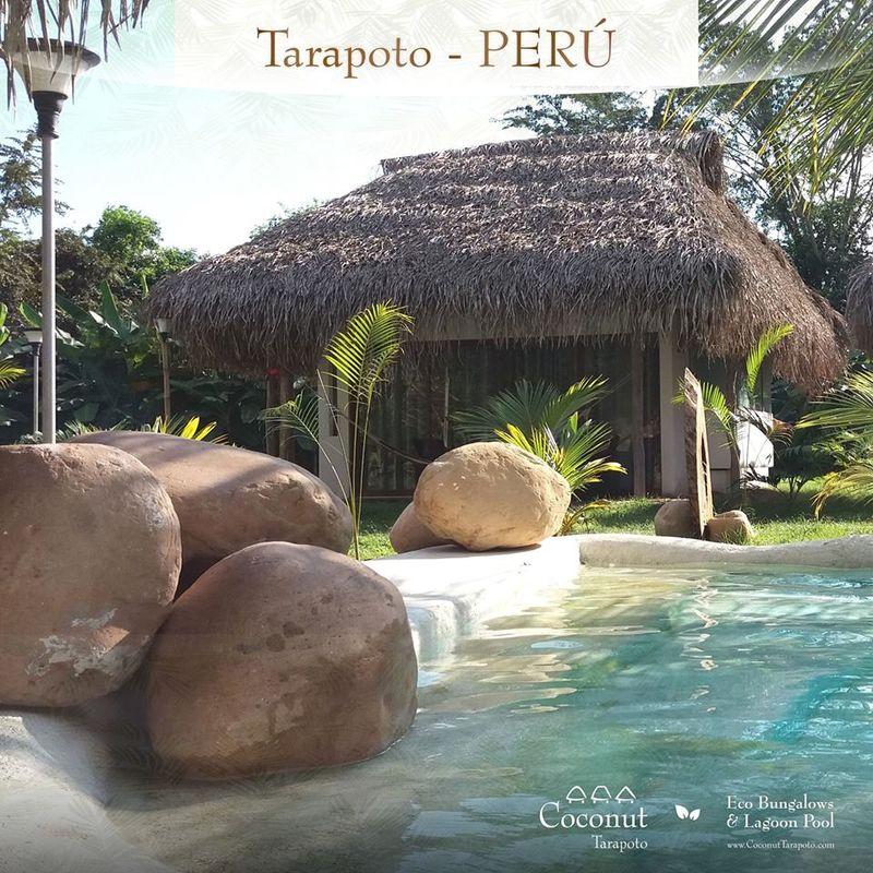 Coconut Tarapoto - Eco Bungalows & Lagoon Pool