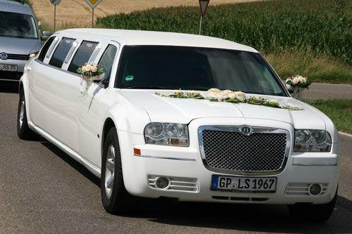 Beispiel: Ihre Hochzeitslimousine, Foto: Limousinen Service Germany.