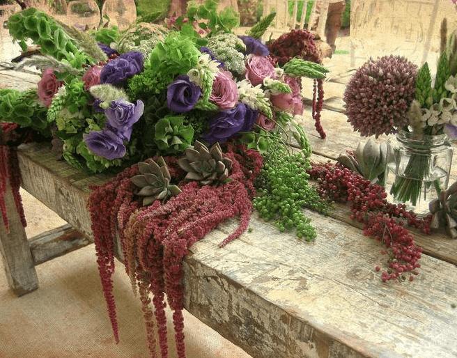 Arreglos de flores para boda - Foto Casa Delirio
