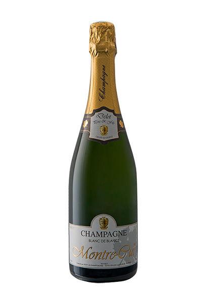 Cuvée Montre-Cul 100% chardonnay. Marque déposée, issu exclusivement du légendaire coteau dont il est issu.  Champagne atypique, très vif et très fruité, aux arômes d'agrumes bien marqués.