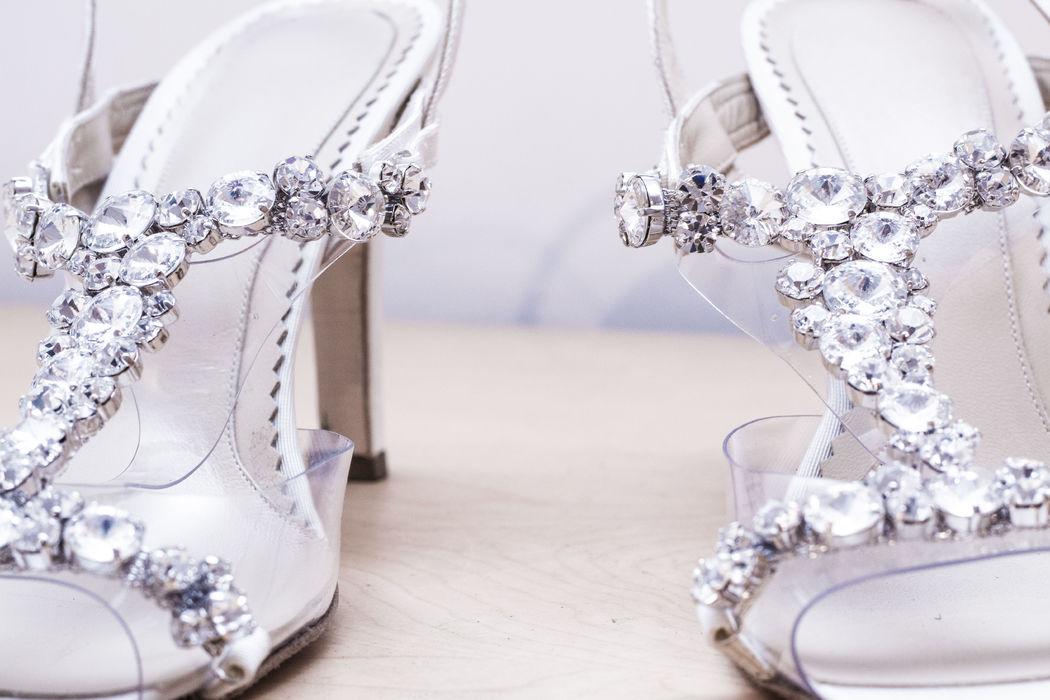 Sandalo gioiello in Swarovski