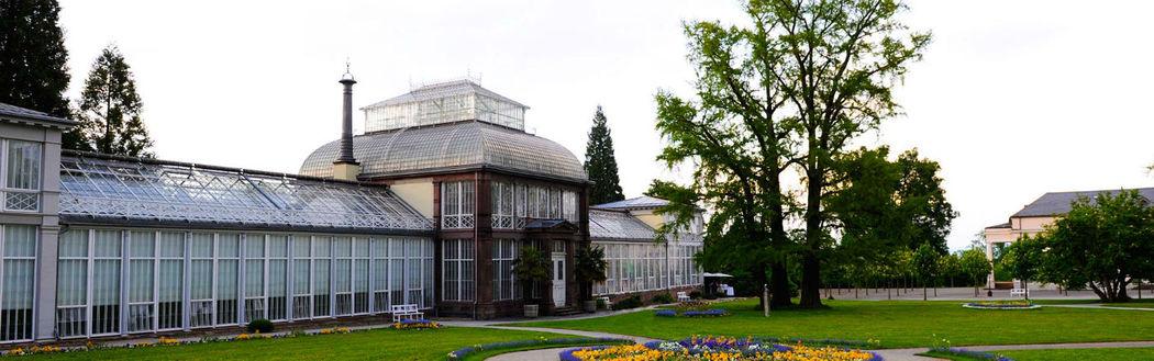 Beispiel: Gewächshaus - Außenansicht, Foto: Kaskaden Wirtschaft Grischäfer.