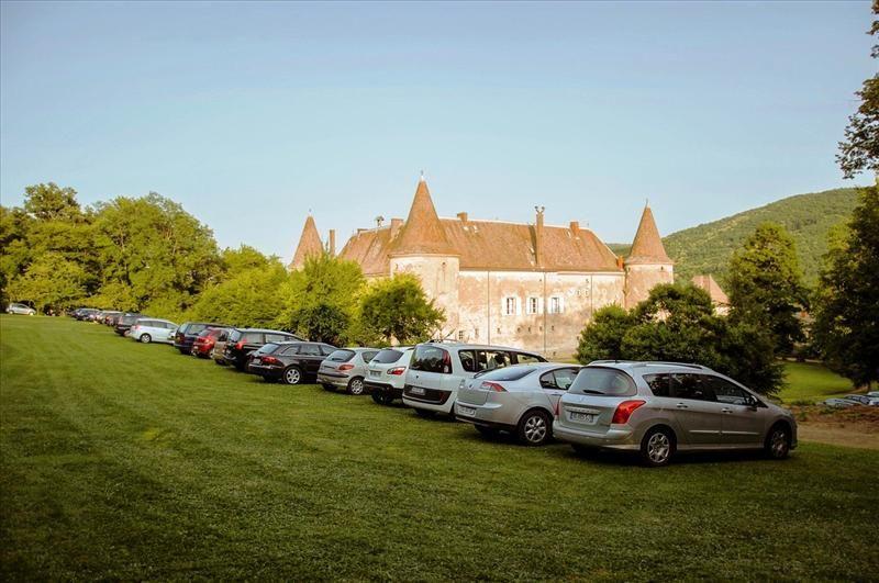 Le château de Varennes, ouest