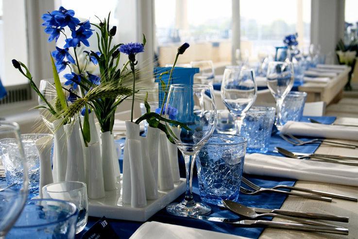 Beispiel: Hochzeitsdekoration, Foto: Brunckhorst Catering.