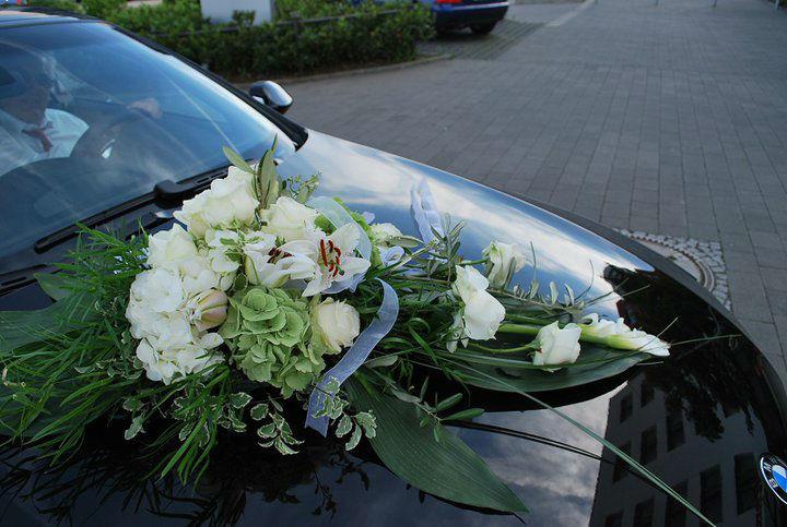 Beispiel: Hochzeitfloristik, Foto: Blümchen Frankfurt.