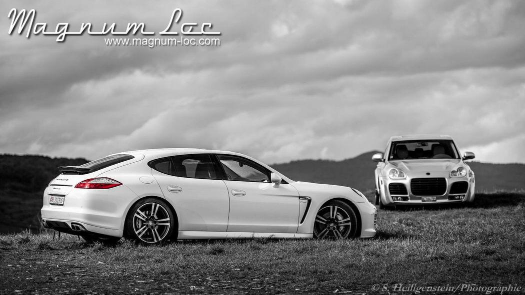 Magnum Loc : Porsche Panamera 4S & Porsche Cayenne Magnum Techart