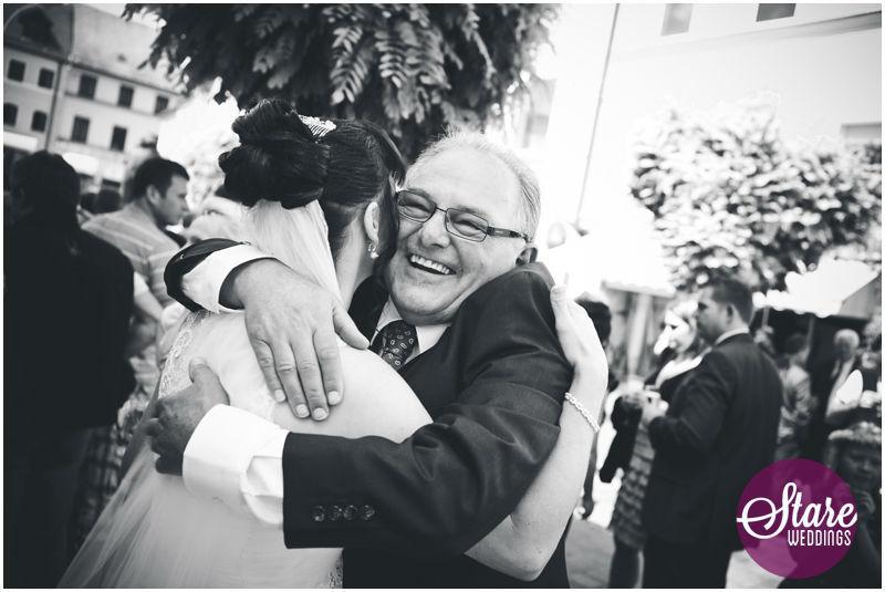 Beispiel: Emotionen mit der Kamera festgehalten, Foto: Stare Weddings.