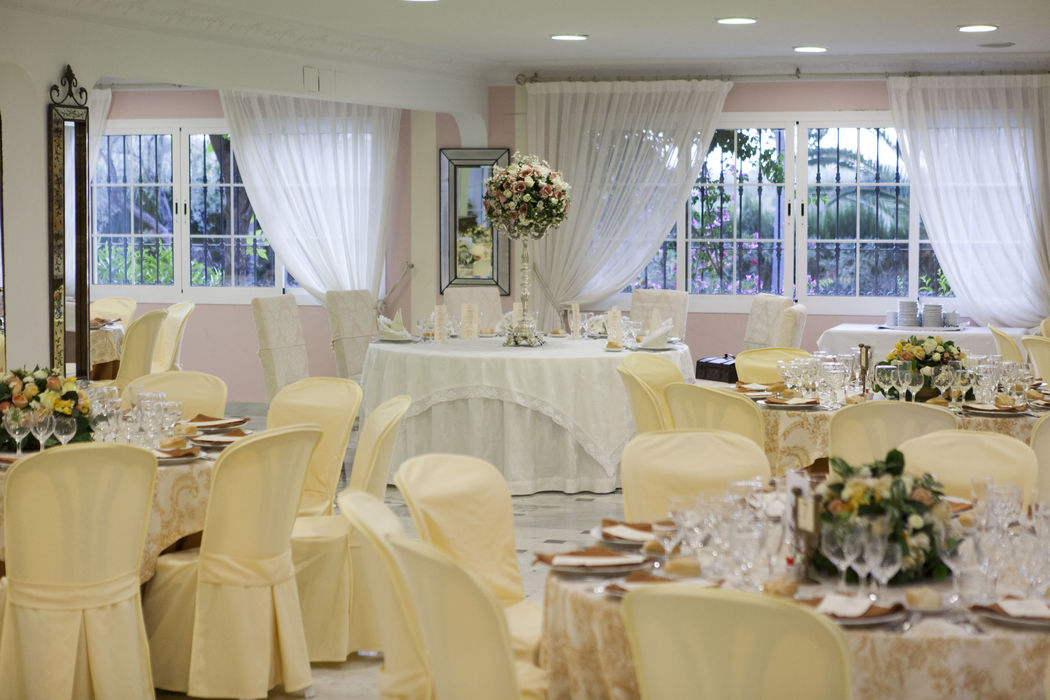 Salón Las Yucas. Ideal para celebraciones más pequeñas. Hacienda Azahares