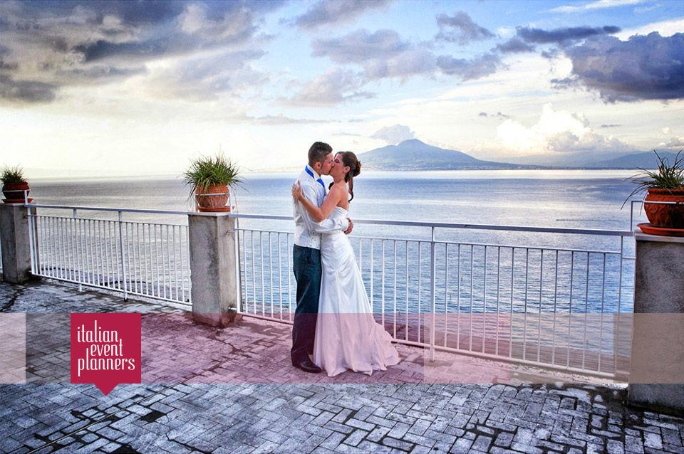 English Wedding in Sorrento
