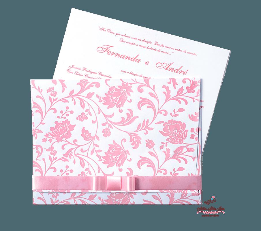 Convite impressão em verniz   - Ref. CS.0103