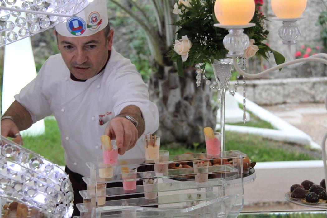 Grand Hotel Pianeta Maratea - l'allestimento del buffet dei dolci
