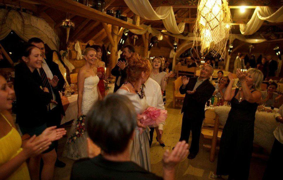 Zabawa weselników