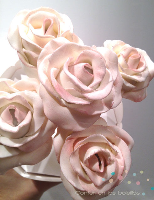 Cakepops en forma de rosas para cualquier evento, regalo...
