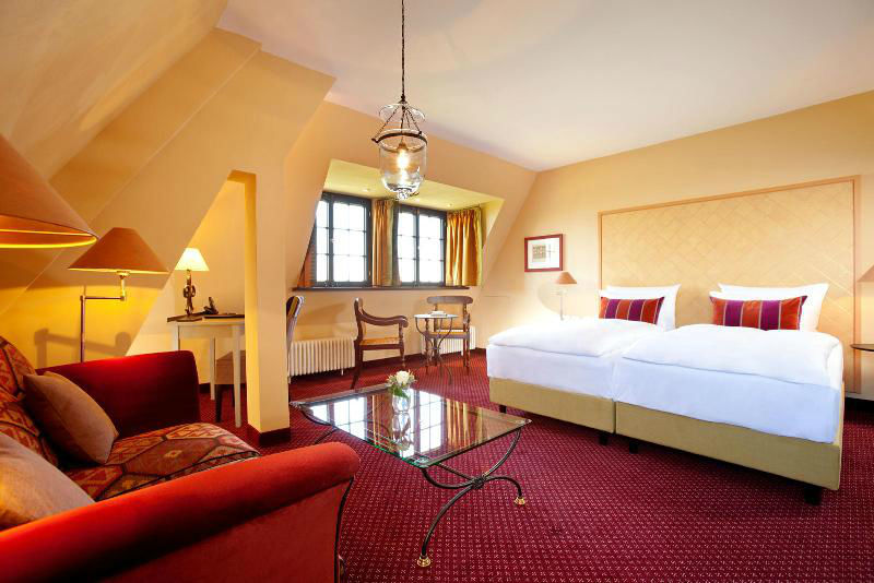 Hotelzimmer, Foto: Hotel auf der Wartburg
