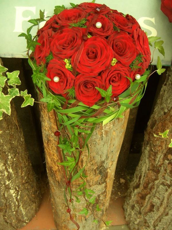 Der Klassiker...rote Rosen.