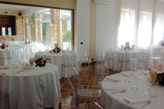 Villa Giacomelli - Salone interno