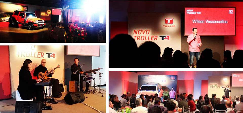 Lançamento Novo Troller T4