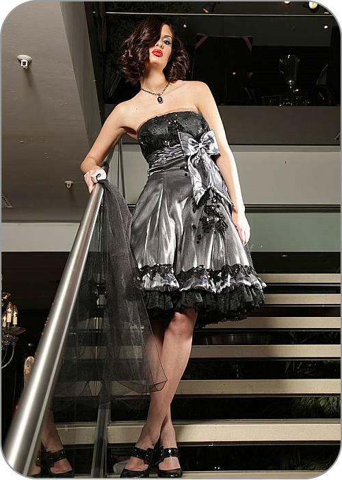 Beispiel: Abendmode, Foto: Brautkleider Alawi.
