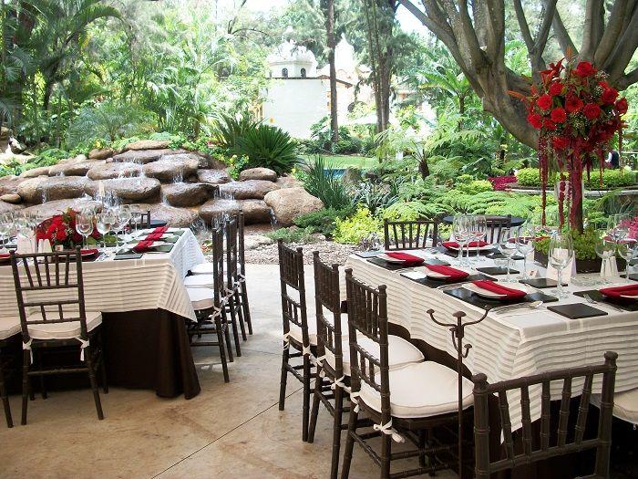 Hermosos jardines en Cuernavaca