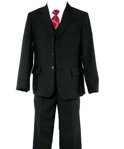 Costume noir pour mariage du 2 ans au 14 ans