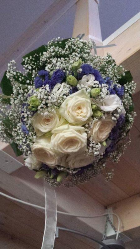 Matrimonio al mare - Fil rouge Ibiza - Bouquet sposa