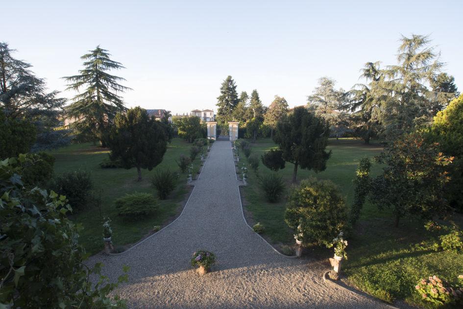 Parco, Villa di Settima