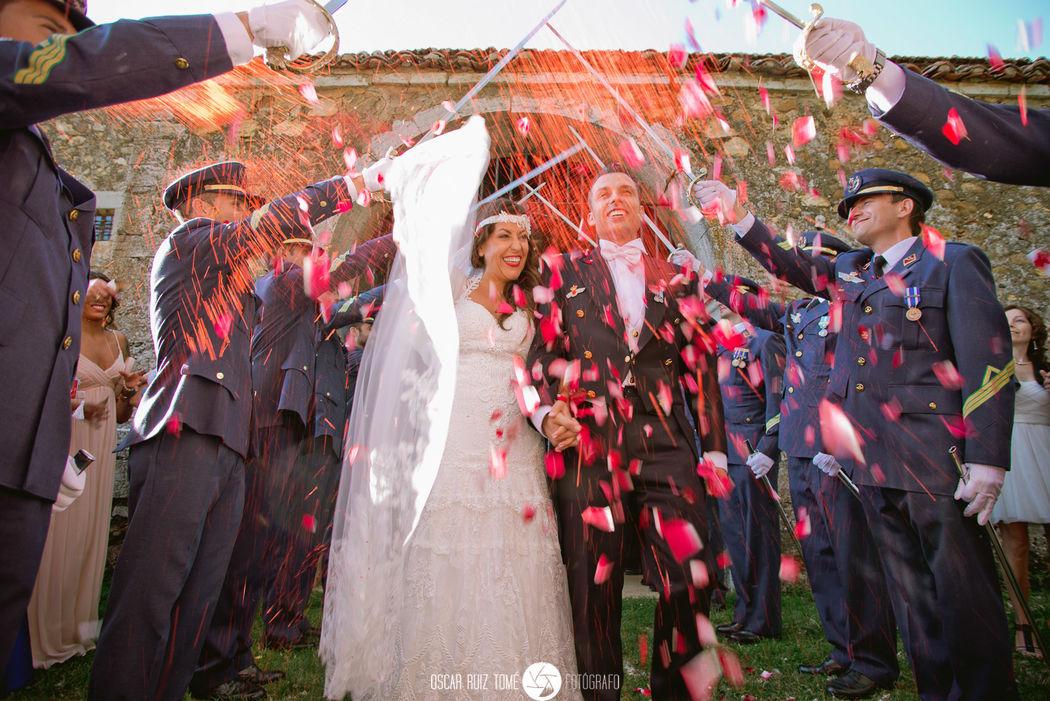 Oscar Ruiz Tomé, Fotógrafo de bodas, arroz