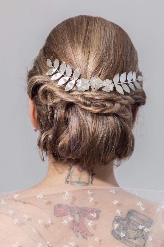 Headband  em ouro branco!