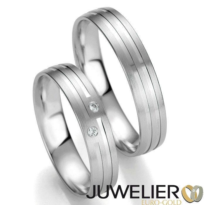 Beispiel: Einzigartige Eheringe, Foto: Juwelier Euro-Gold.