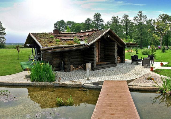 Beispiel: Finnische Sauna, Foto: Milanhof.