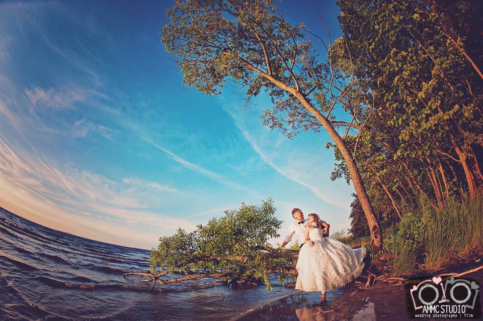 Sesja nad wodą