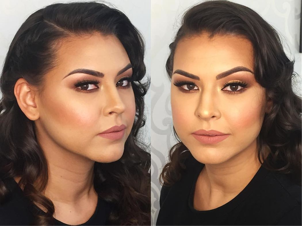 Andrea Coello Makeup and Brows
